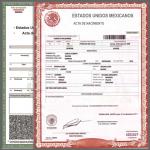 Acta de Nacimiento en Linea Durango